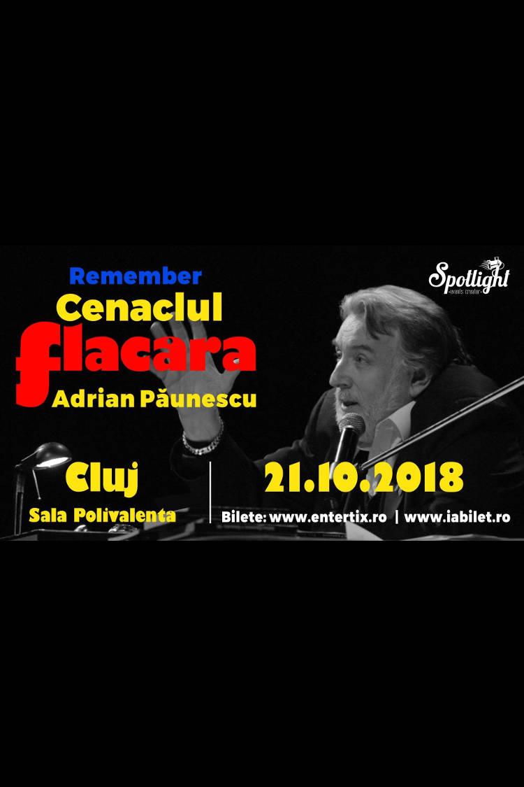Remember Cenaclul Flacăra la Casa de Cultură a Studenților din Cluj-Napoca