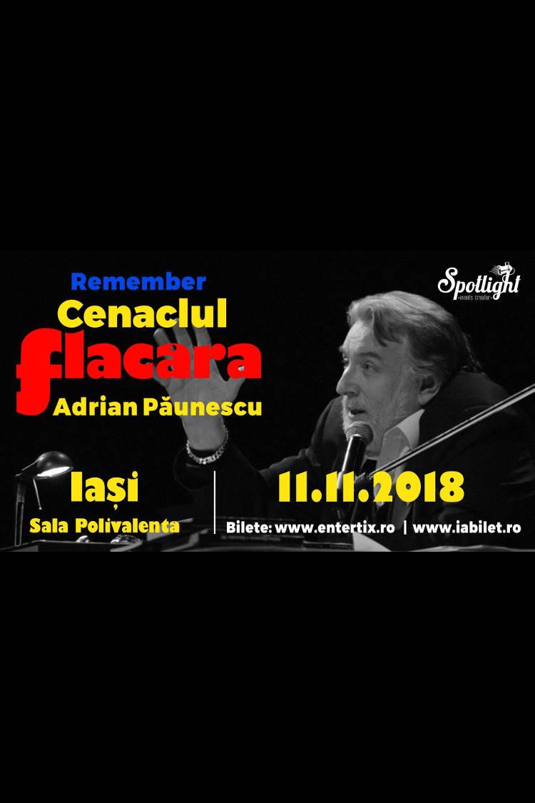 Remember Cenaclul Flacăra la Sala Polivalenta din Iași