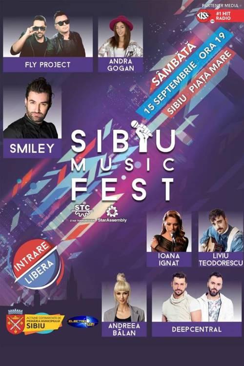 Sibiu Music Fest 2018 la Piața Mare din Sibiu