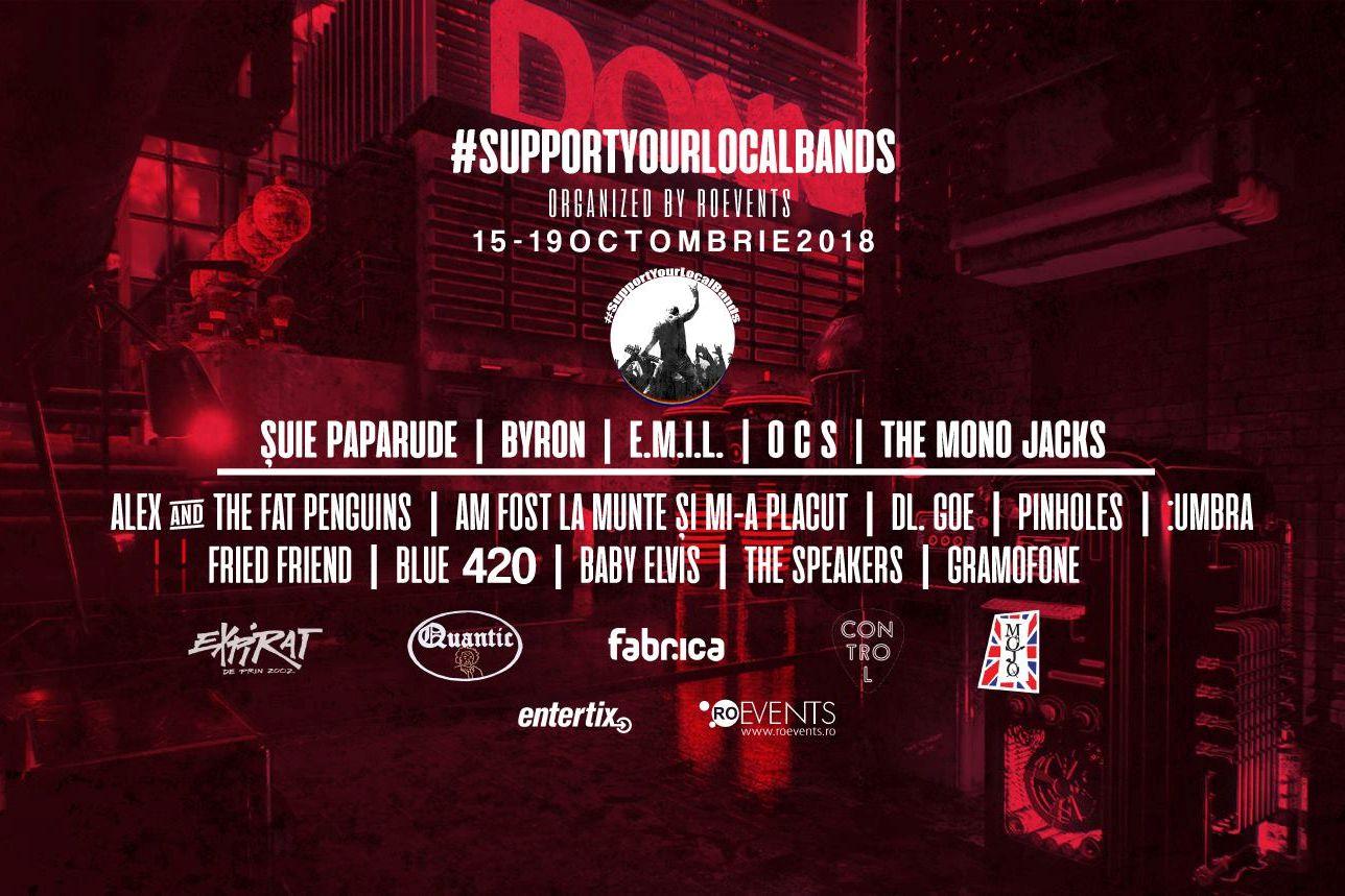 SupportYourLocalBands Music Festival 2018 la Expirat Club
