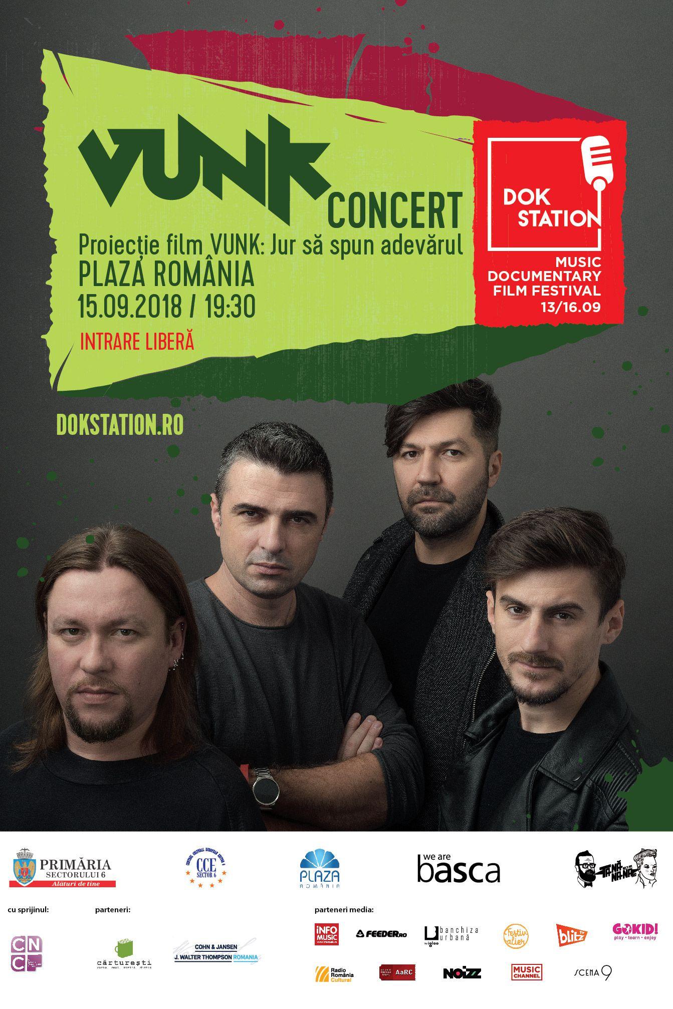 VUNK la Plaza Romania București