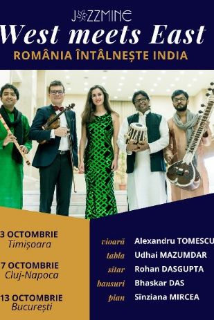 West meets East la Filarmonica Banatul din Timișoara