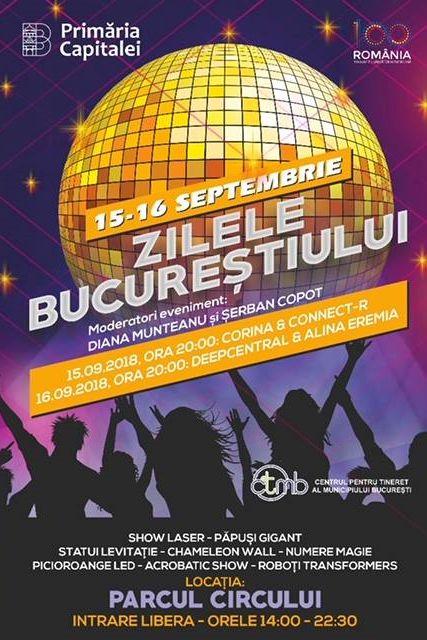 Zilele Bucureștiului la Parcul Circului