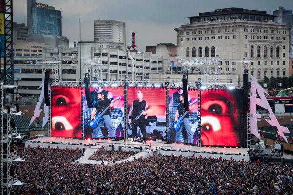 Metallica în concert