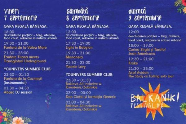 Program Balkanik Festival 2018