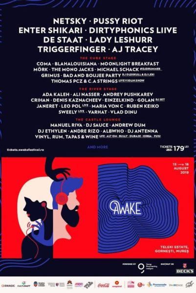 Poster eveniment AWAKE Festival 2019