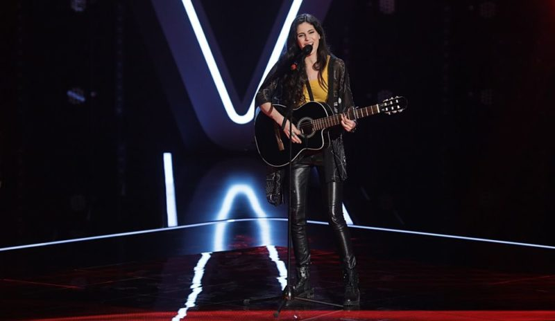 Alma Boiangiu în audiții la Vocea României 2018