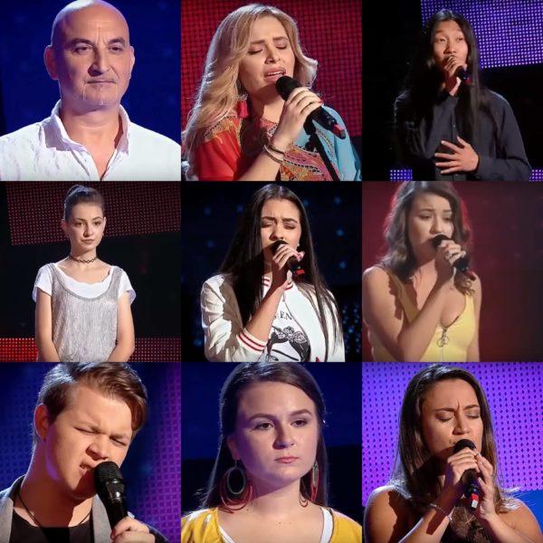 Concurenții care au întors scaune la audițiile Vocea României 2018 - episodul 5