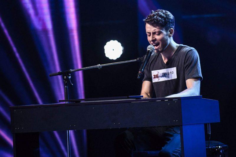Alex Țală în audiții la X Factor România 2018