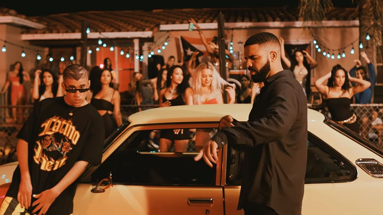Videoclip: Bad Bunny feat. Drake - Mia