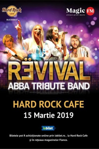 Poster eveniment ABBA Tribute Band – Revival