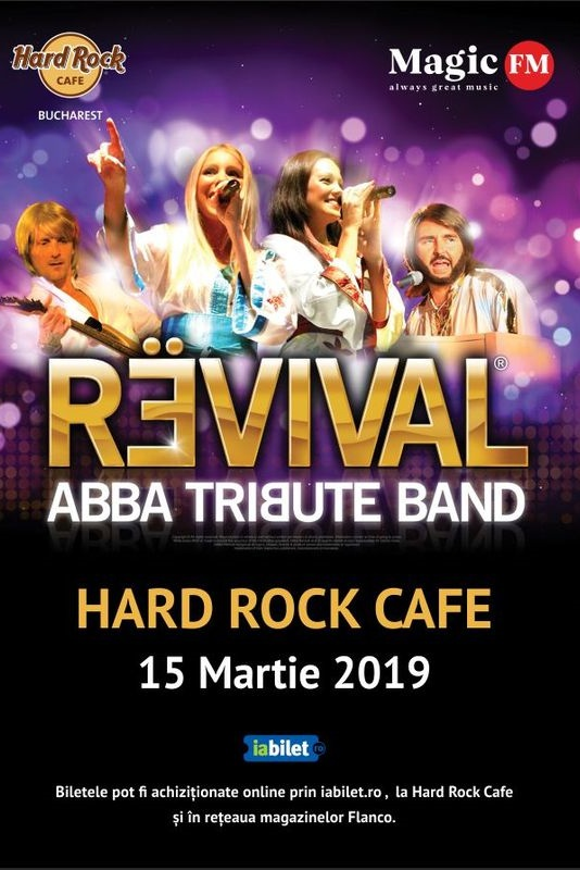 ABBA Tribute Band – Revival la Hard Rock Cafe