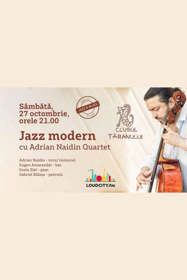 Adrian Naidin Quartet la Clubul Țăranului Român