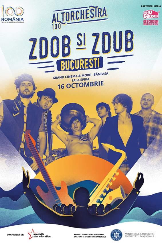 ALTorchestra 100 cu Zdob și Zdub la Grand Cinema & More