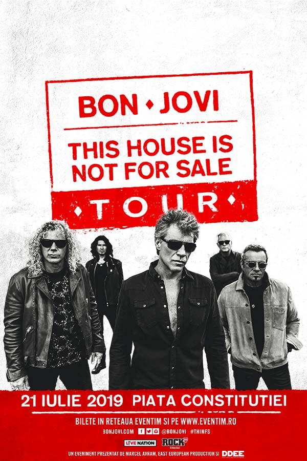 Bon Jovi la Piața Constituției