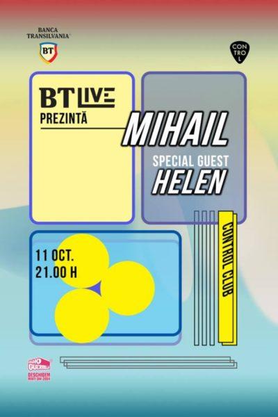 Poster eveniment BT Live: Mihail / Helen