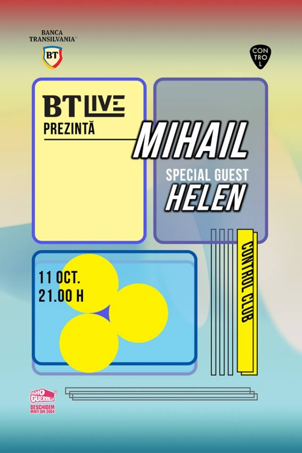 BT Live: Mihail / Helen la Club Control