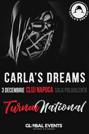 Carla's Dreams - ANULAT la BT Arena (Sala Polivalentă) Cluj-Napoca