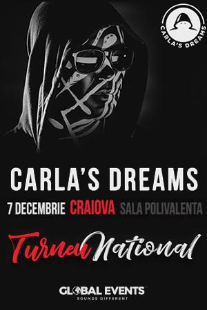Carla's Dreams la Sala Polivalentă Craiova