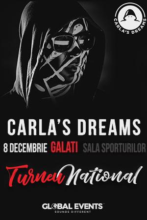 Carla's Dreams la Sala Sporturilor Galați
