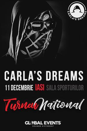 Carla's Dreams la Sala Polivalenta din Iași