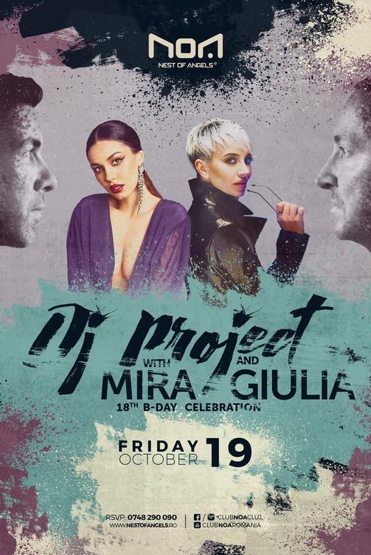 DJ Project la Club NOA (Cluj-Napoca)