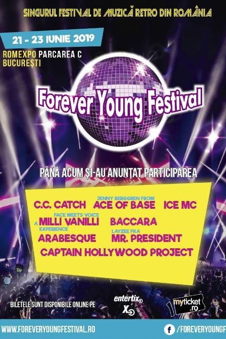 Forever Young Festival 2019 la Romexpo