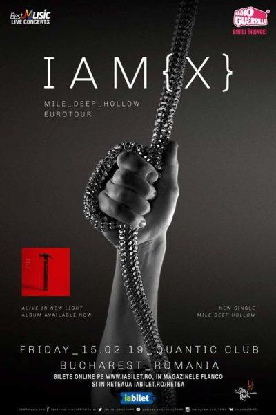 Poster eveniment IAMX