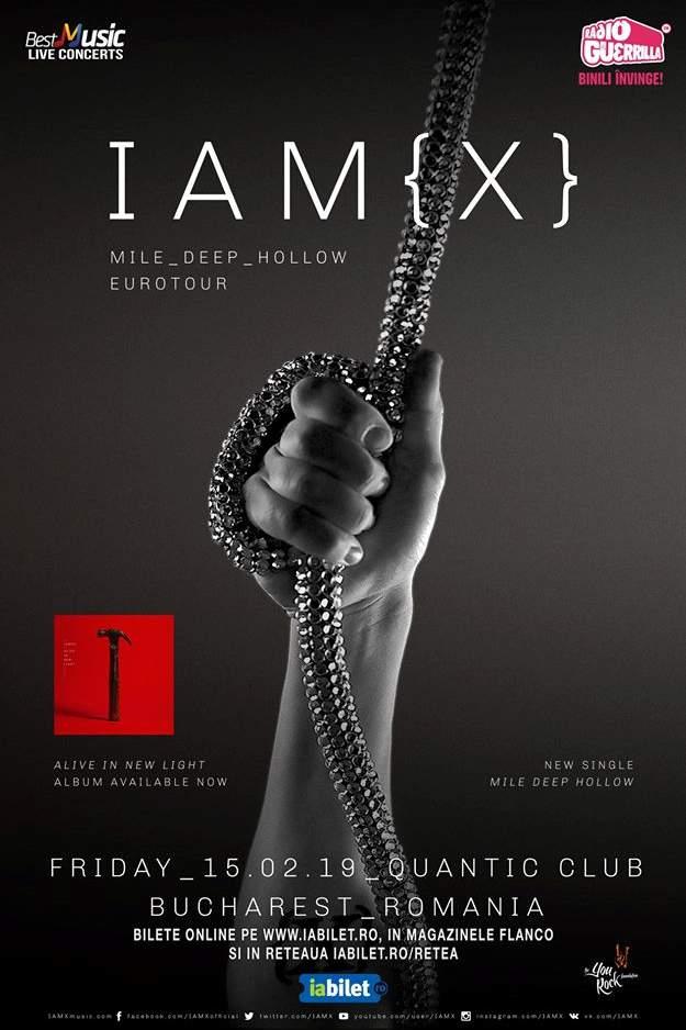 IAMX la Quantic Club