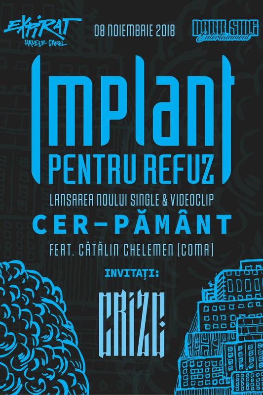 Implant Pentru Refuz - lansare single la Expirat Club
