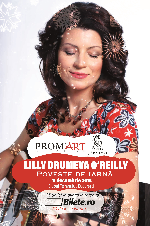 Lilly Drumeva O'Reilly la Clubul Țăranului Român