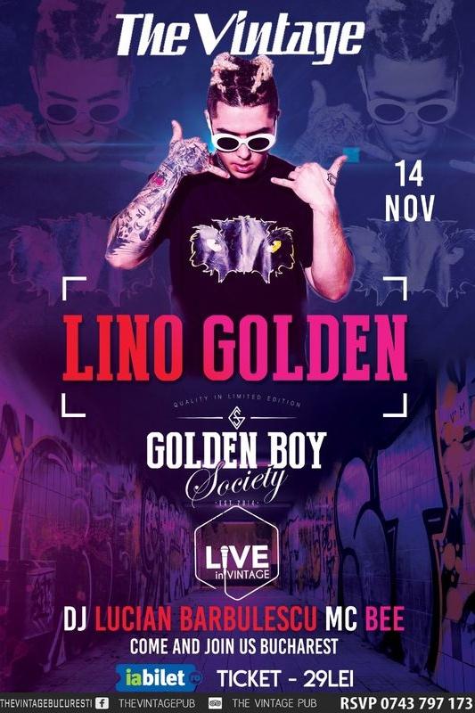 Lino Golden la Vintage Pub