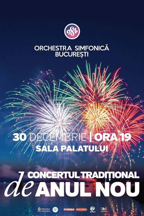 Concertul Tradițional de Anul Nou la Sala Palatului