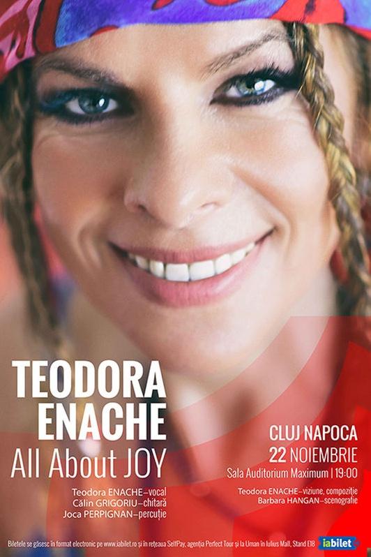 Teodora Enache - All About Joy la Universitatea