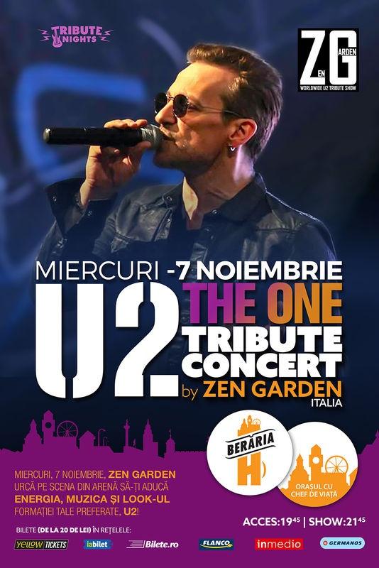 U2 Tribute Concert la Berăria H