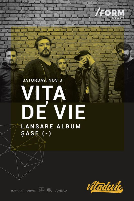 Vița de Vie - lansare album la Form Space Club