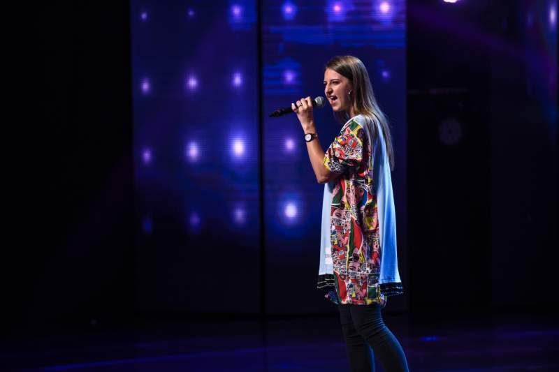 Isabela Pamparău la X Factor România 2018