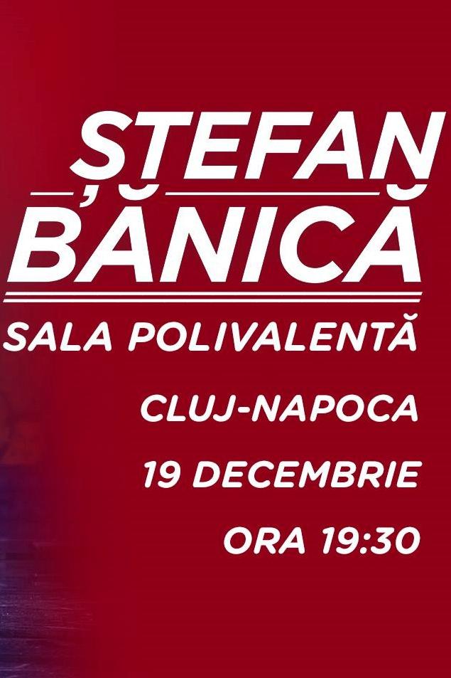 Ștefan Bănică la BT Arena (Sala Polivalentă) Cluj-Napoca