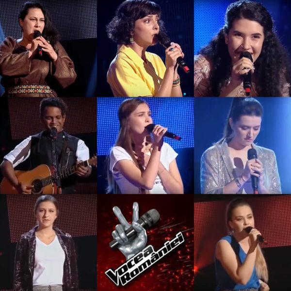 Concurenții care au întors scaune la audițiile Vocea României 2018 - episodul 7
