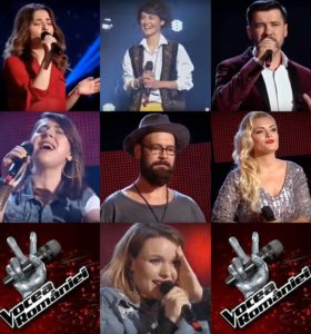 Concurenții care au întors scaunele la audițiile Vocea României 2018 - episodul 8