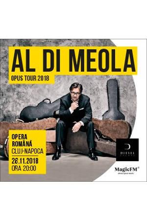 Al Di Meola la Opera Națională Română Cluj-Napoca