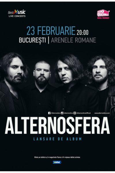 Poster eveniment Alternosfera - Lansare de album