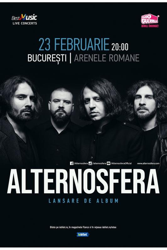 Alternosfera - Lansare de album la Arenele Romane