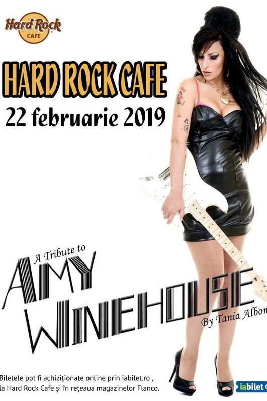 Amy Winehouse Tribute - ANULAT la Hard Rock Cafe