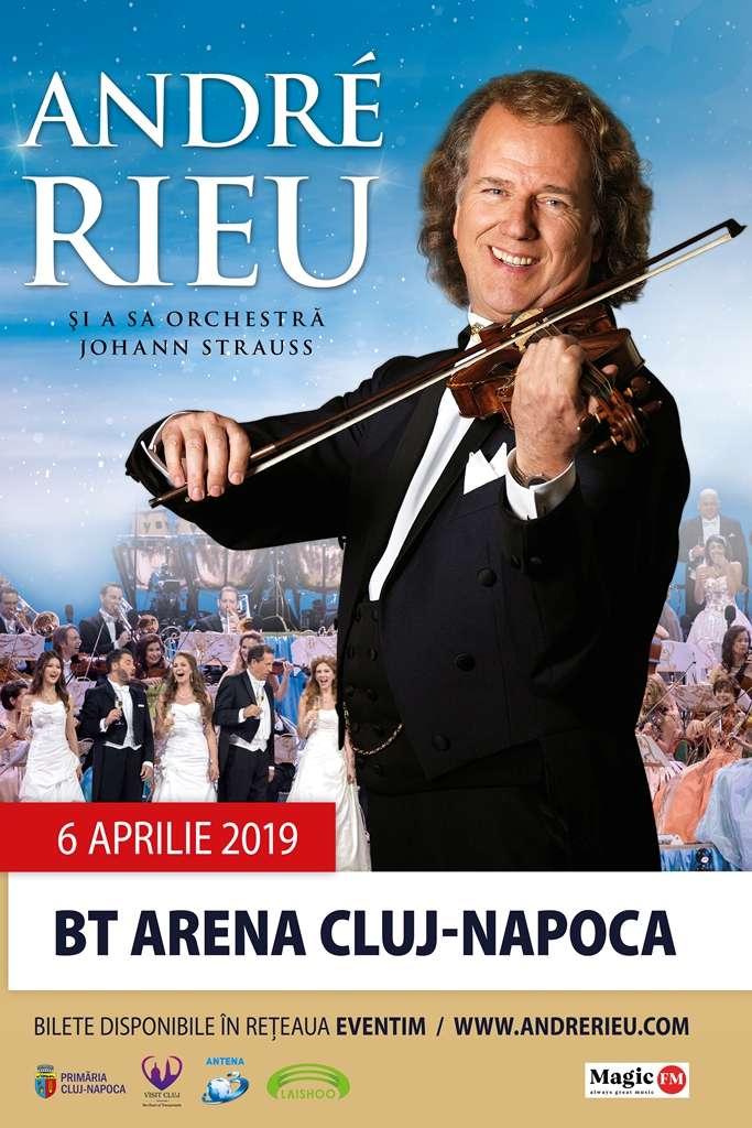 André Rieu la BT Arena (Sala Polivalentă) Cluj-Napoca