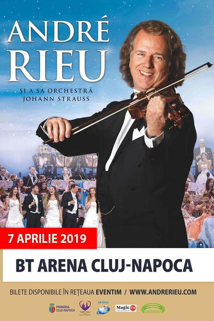 André Rieu - SOLD OUT la BT Arena (Sala Polivalentă) Cluj-Napoca
