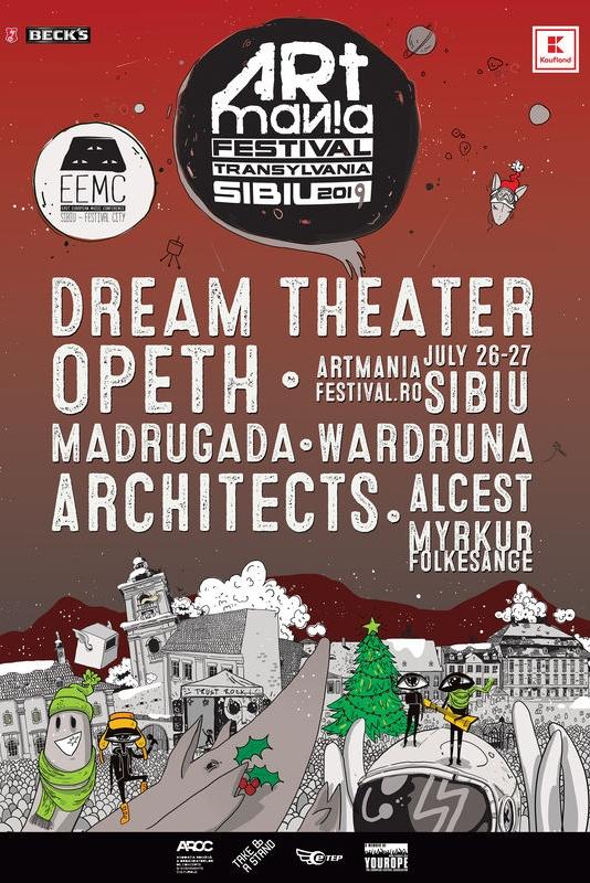 ARTmania Festival 2019 la Piața Mare din Sibiu