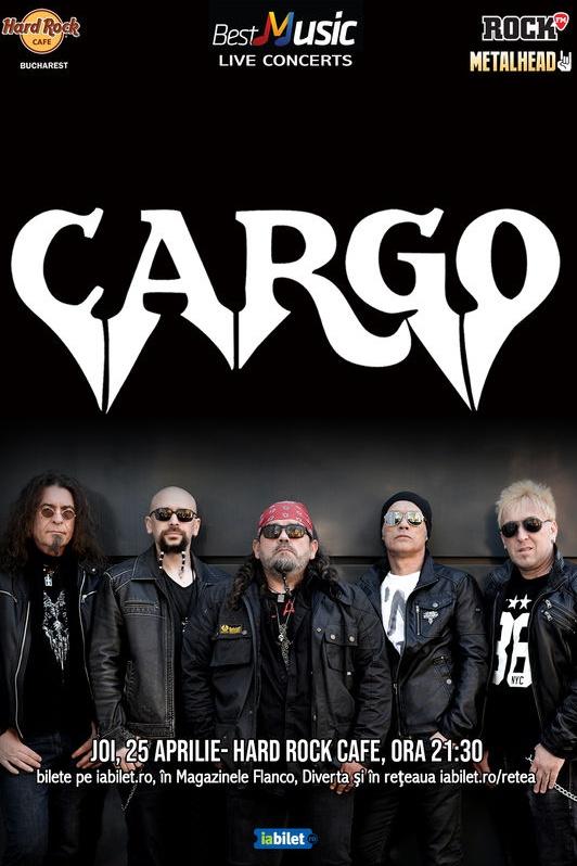 Cargo la Hard Rock Cafe