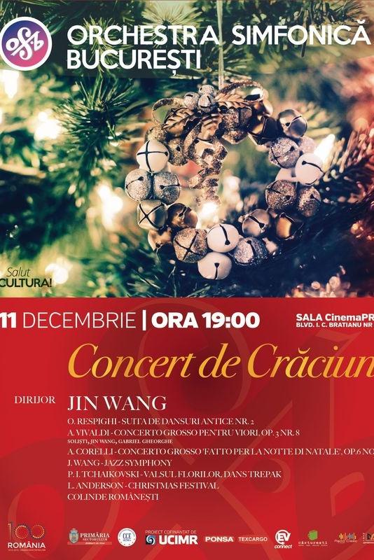 Concert de Crăciun - Stagiunea SalutCULTURA! la CinemaPro