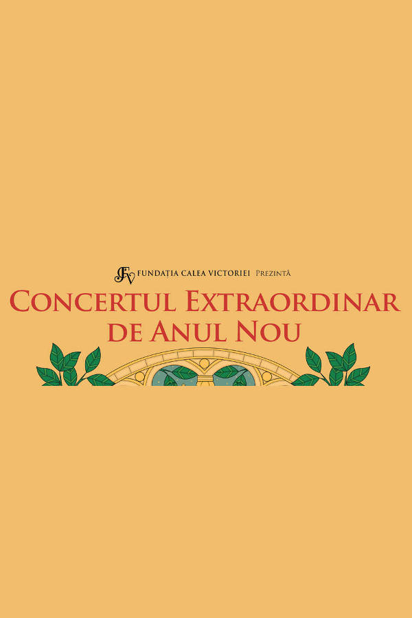 Concert Extraordinar de Anul Nou la Teatrul Naţional București